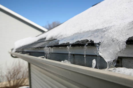 Effects of snow and ice on roof
